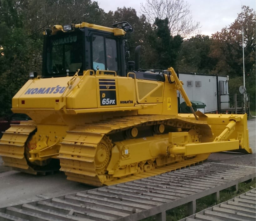 Komatsu D65PX bulldozer