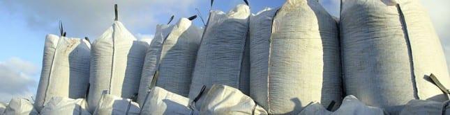 Bagged aggregates, bulk aggregates