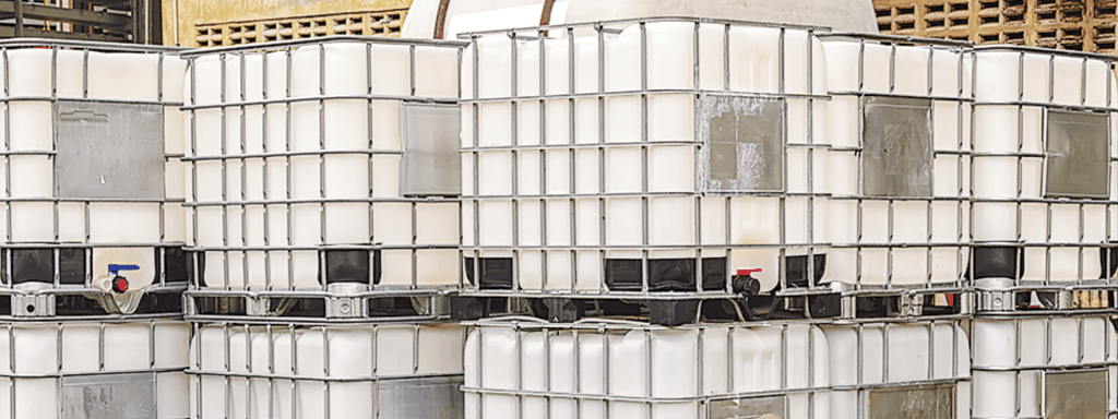 IBC containers for Hazardous waste