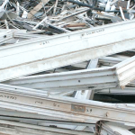 Upvc window waste for tipping