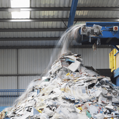 Southwood Recycling Centre in Somerset
