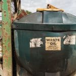 Waste oil disposal