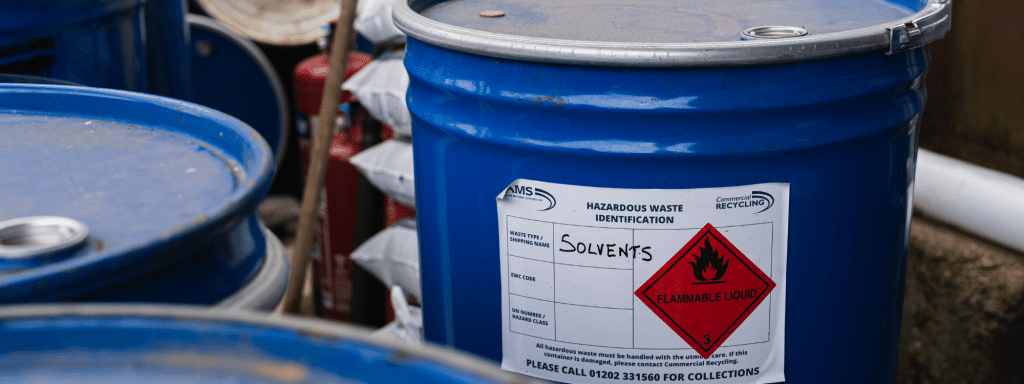 Solvent disposal