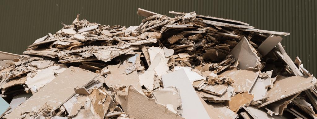 Plasterboard disposal