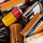 Waste battery recycling